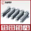 达克罗螺栓六角头螺栓8.8级达克罗螺丝高强度外六角螺丝直销