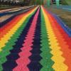 不分季节可玩的网红滑道 好看又刺激 七彩彩虹滑道安全又环保