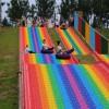 彩虹滑道场地不限 四季可玩不受天气影响 七彩滑道网红打卡地